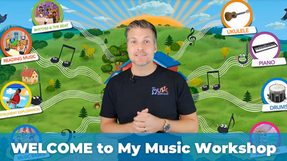 Look Inside My Music Workshop!