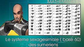 Les Maths chez les Sumériens