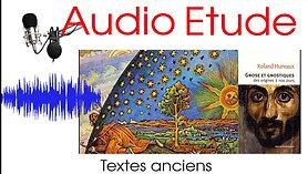 Etude audio - la gnose