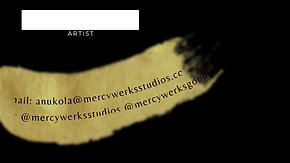 MercyWerks Business Cards
