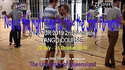 The Legendary University of Queensland Tango Course is Open for Enrollments Now!