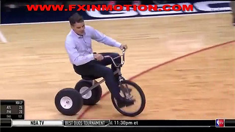 Jeff Gordon Trike Race
