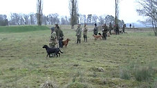 Banners Dogschool - shot&retrieve 19 01 2014 open