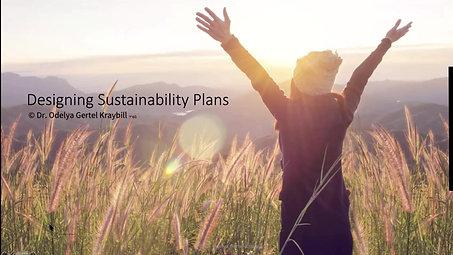 Sustainability session 1