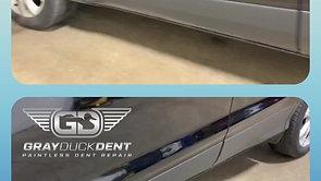 Dent Repair Ford Escape Door