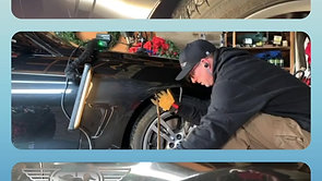 BMW dent repair time lapse