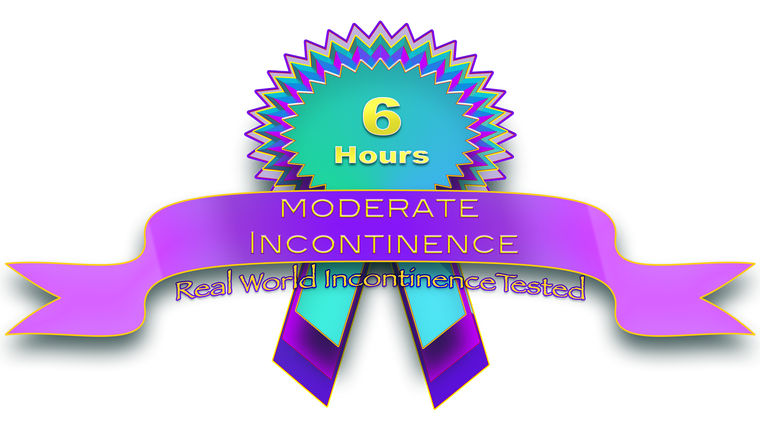 Moderate Incontinence 6hrs