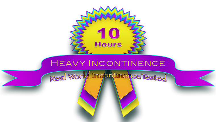 Heavy Incontinence 10 hours