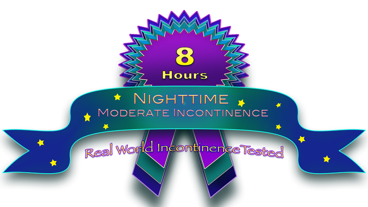 Moderate Night-Time Incontinence 8hrs
