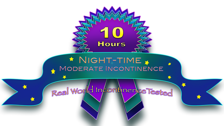 Moderate Night-Time Incontinence 10 hours