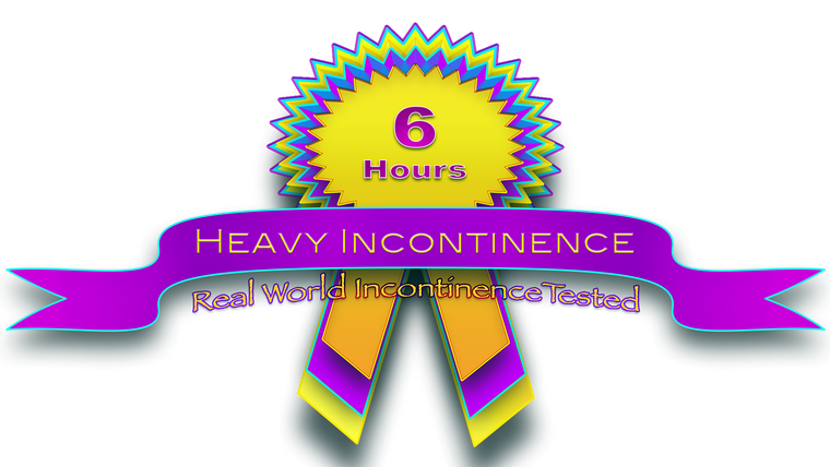 Heavy Incontinence 6hrs