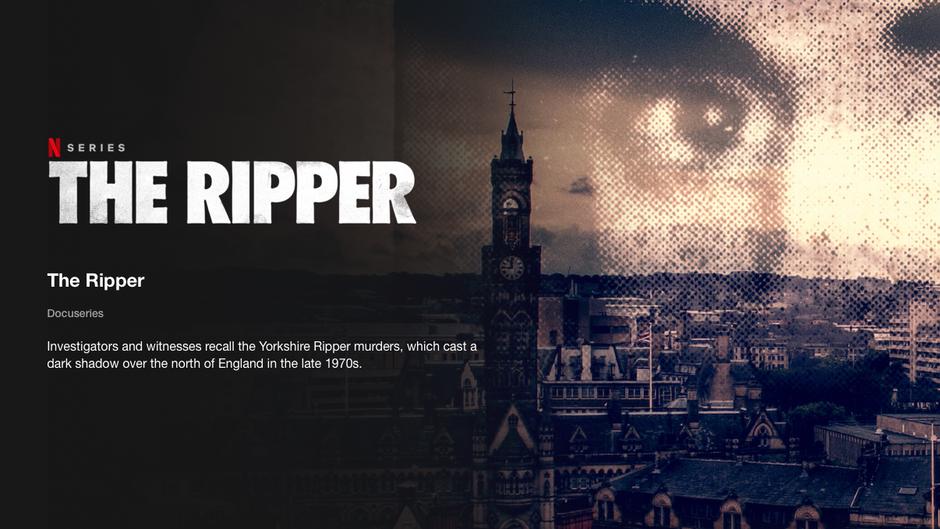 NETFLIX The Ripper