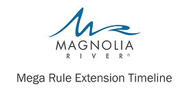 COVID-19 Mega Rule Extension Timeline