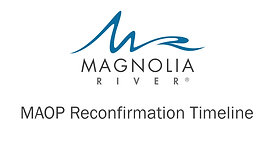 MAOP Reconfirmation Timeline