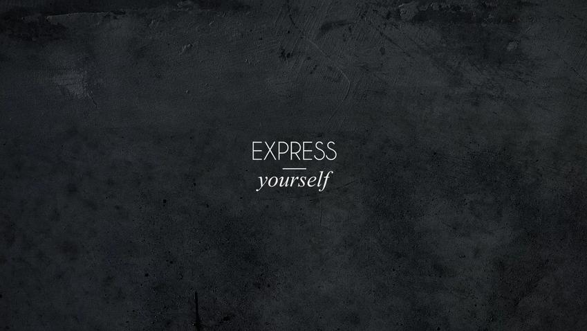 "Robertinho Marçal ""Express Yourself""."