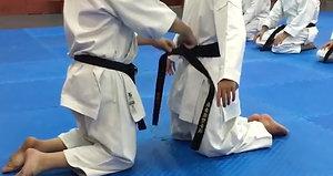 Entrega cinturón Negro 1 Dan a Jorge