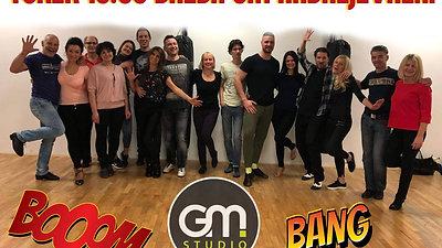 Plesni tečaji v GM Studiu