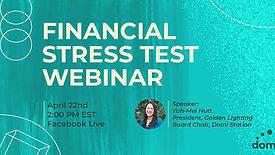 Financial Stress Test Webinar