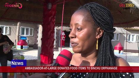 Asia Times- Ambassador Visit Orphanage Gambia