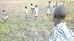 Wanume and Children - Gardening