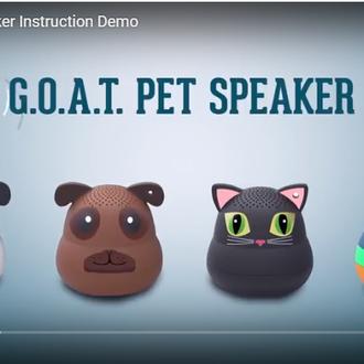 G O A T  Pet Speaker