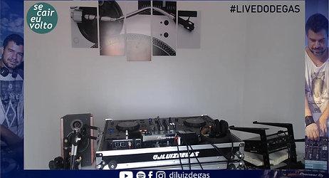 FESTA VIRTUAL com DJ Luiz Degas | #fiqueemcasa DANCE #comigo