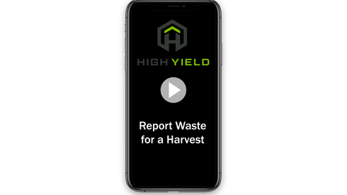 Report Waste for a Harvest