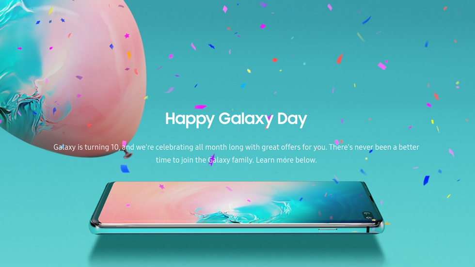 Samsung Galaxy Day