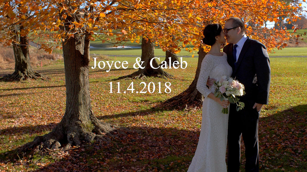 Joyce and Caleb Wedding