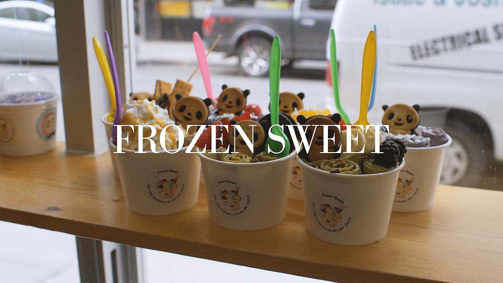Frozen Sweet