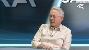 Álvaro Uribe Vélez en Cara a Cara