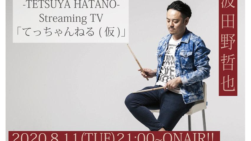 2020.08.11| 21:00- -波田野哲也のStreaming TV- 「てっちゃんねる(仮)」