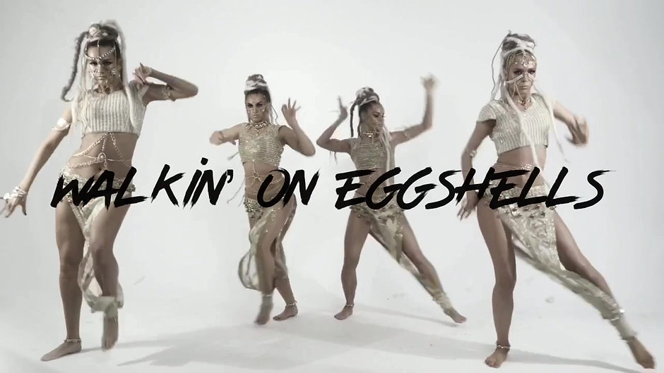 Walkin' On Eggshells ft Miles Bonny & The Black Bond