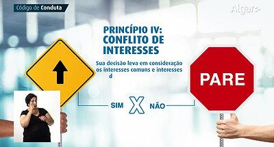 5 - Princípio IV - Conflito de Interesses