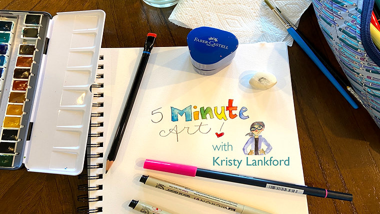 5 Minute Art with Kristy Lankford