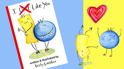 """""""I Don't Like You"""" Book"""