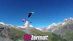 FLYZermatt Paragliding summer 30b