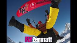 FLY Zermatt paragliding. The Elite Matterhorn Glacier Paradise