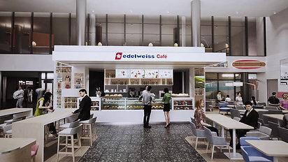 Zürich Airport - Edelweiss Café