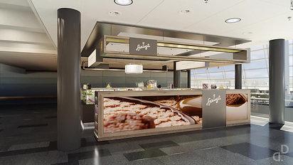 Zürich Airport - Lindt&Sprüngli Retail Islands