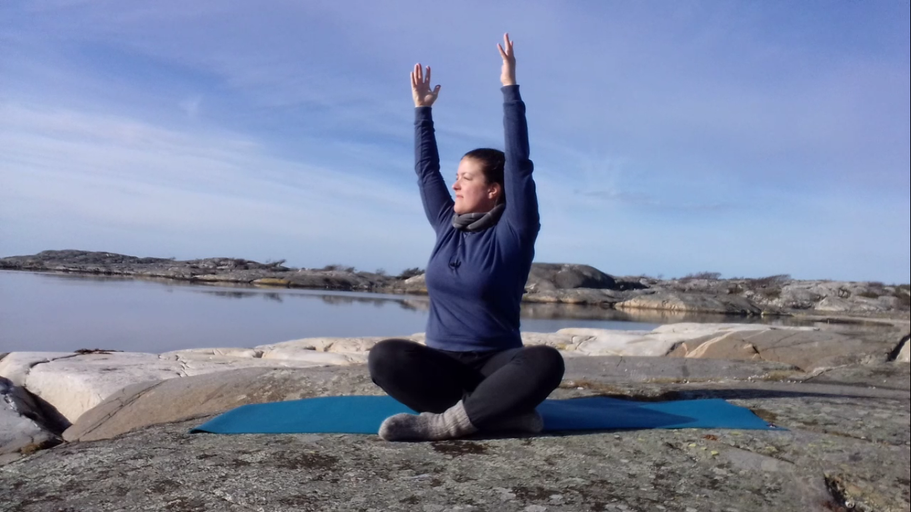 Yogavideor från Kosteröarna