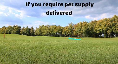 PET SUPPLIES DELIVERED!