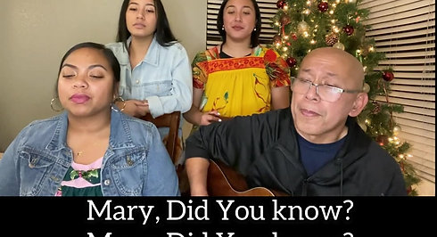 _Mary Did You Know_ (Cover)