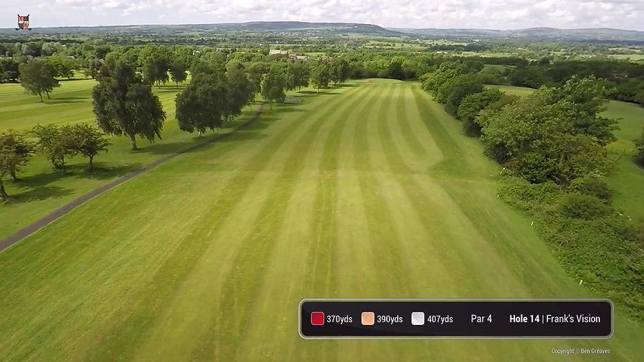 Mytton Fold Golf Course Flyover