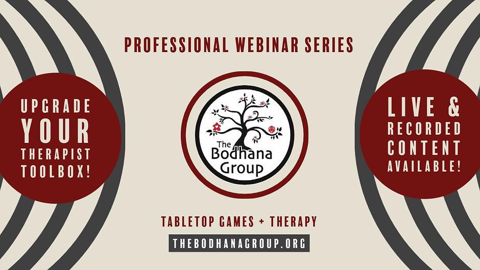 TBG Professional Webinar Series