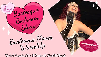 Burlesque Moves WarmUp