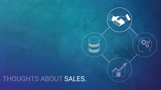 What is sales all about?