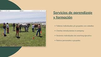 La Empresa Consciente, aprendizaje asistido por caballos