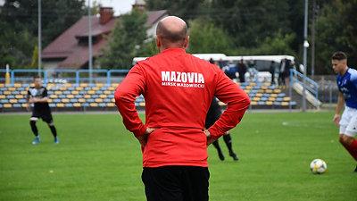 Konferencja pomeczowa Mazovia - Mszczonowianka