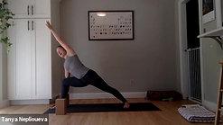 Vinyasa Yoga Class, one